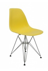 DSR Eames Design Dining Chair Yellow