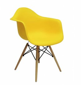 DAW Chair Yellow