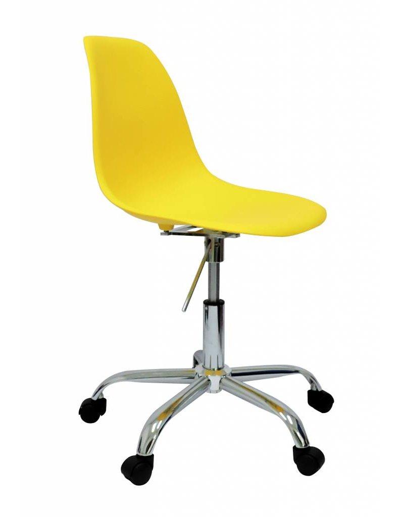 PSCC Eames Design Stoel Geel