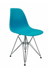 DSR Eames Design Dining Chair Blue