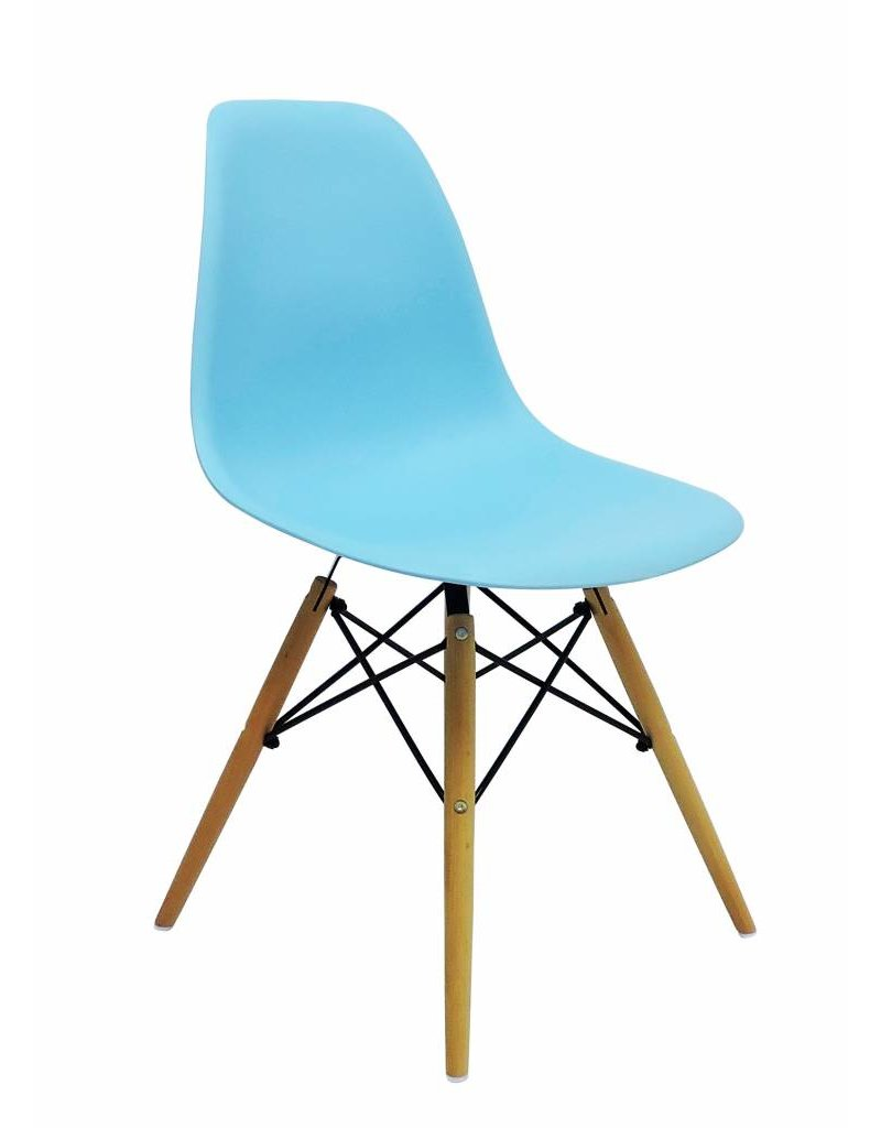 Exceptionnel DSW Eames Design Dining Chair Blue ...