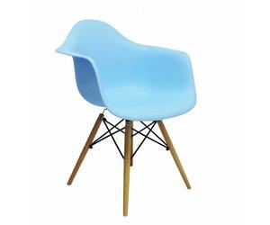 Daw eames design stoel blauw design seats design stoelen