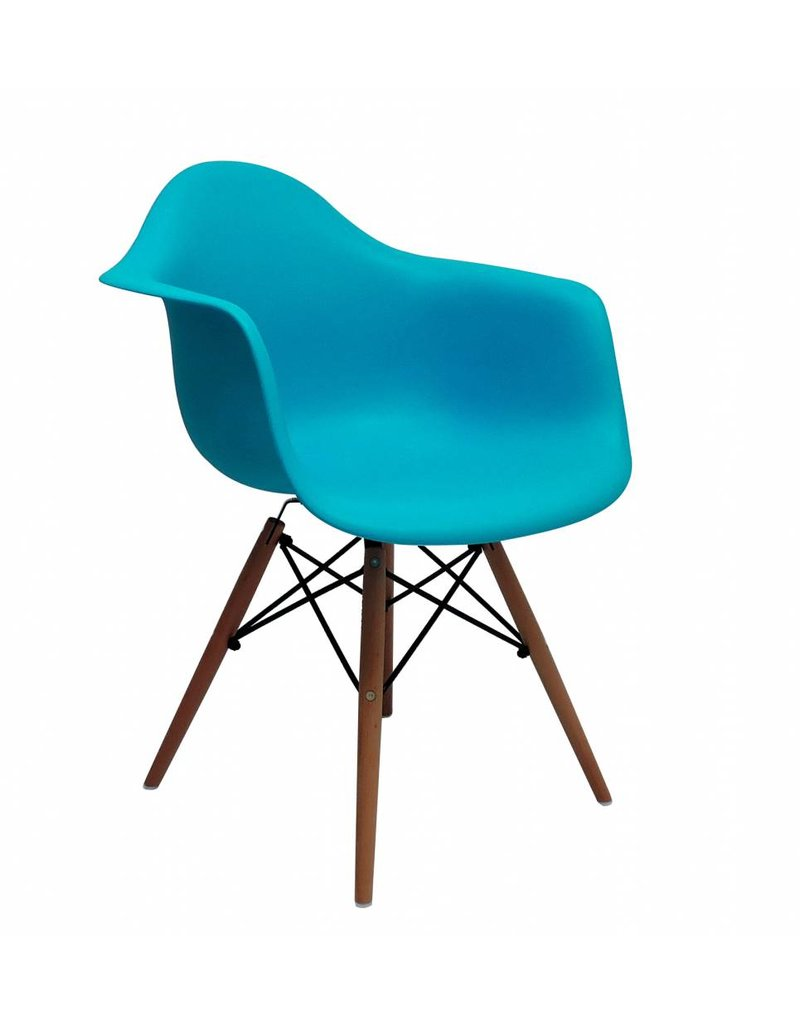 DAW Eames Design Chair Blue