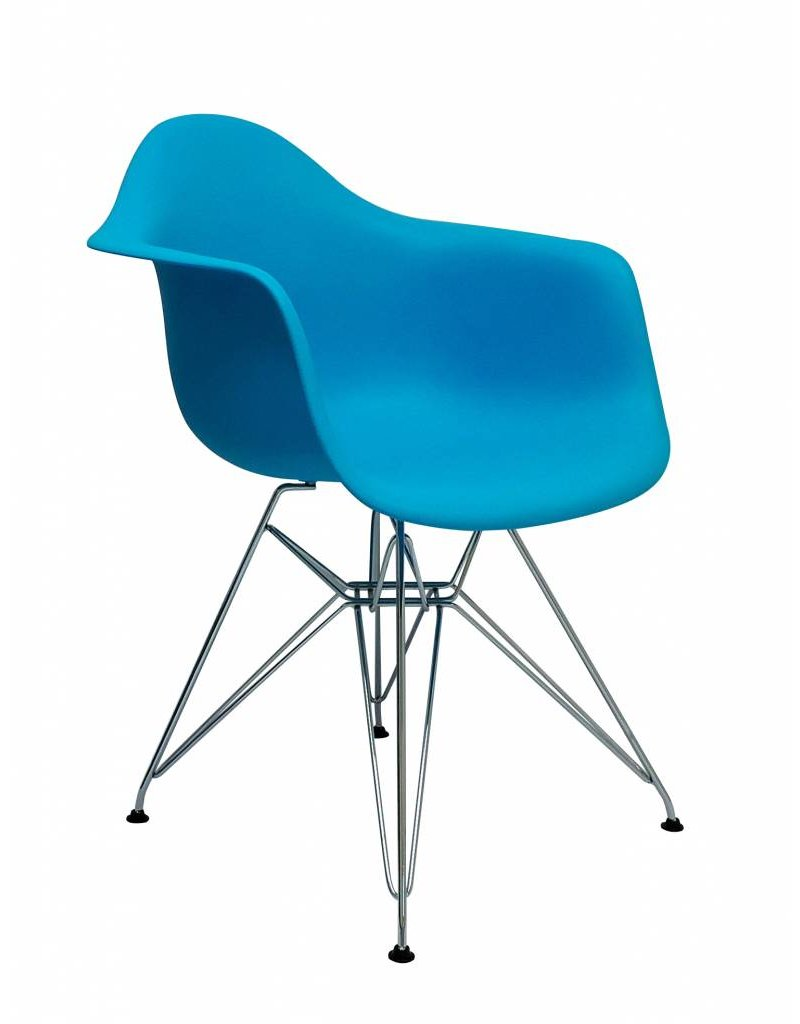 DAR Eames Design Chair Blue
