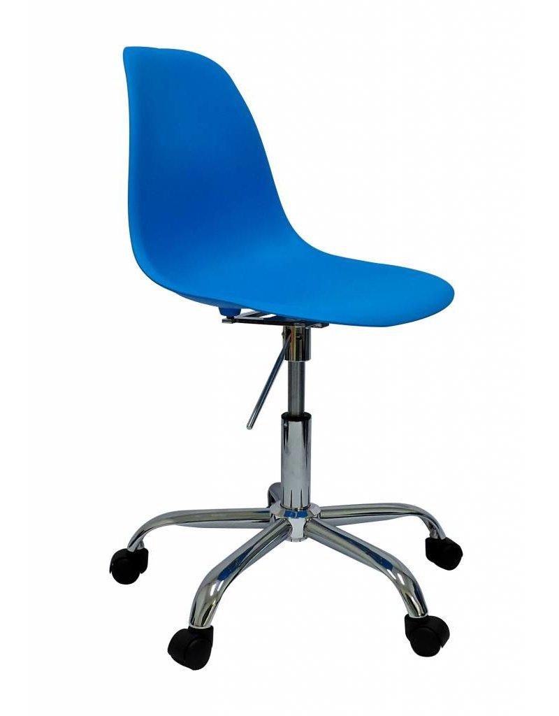 PSCC Eames Design Stoel Blauw