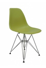 DSR Eames Design Dining Chair Green