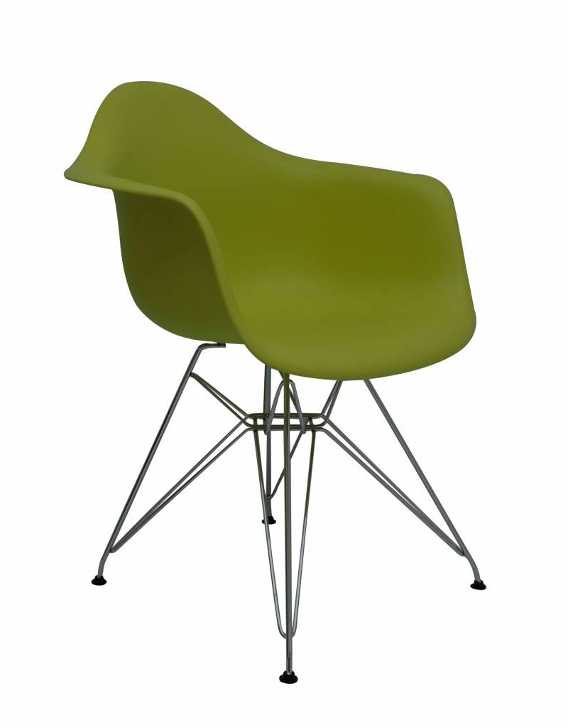 DAR Eames Design Chair Green