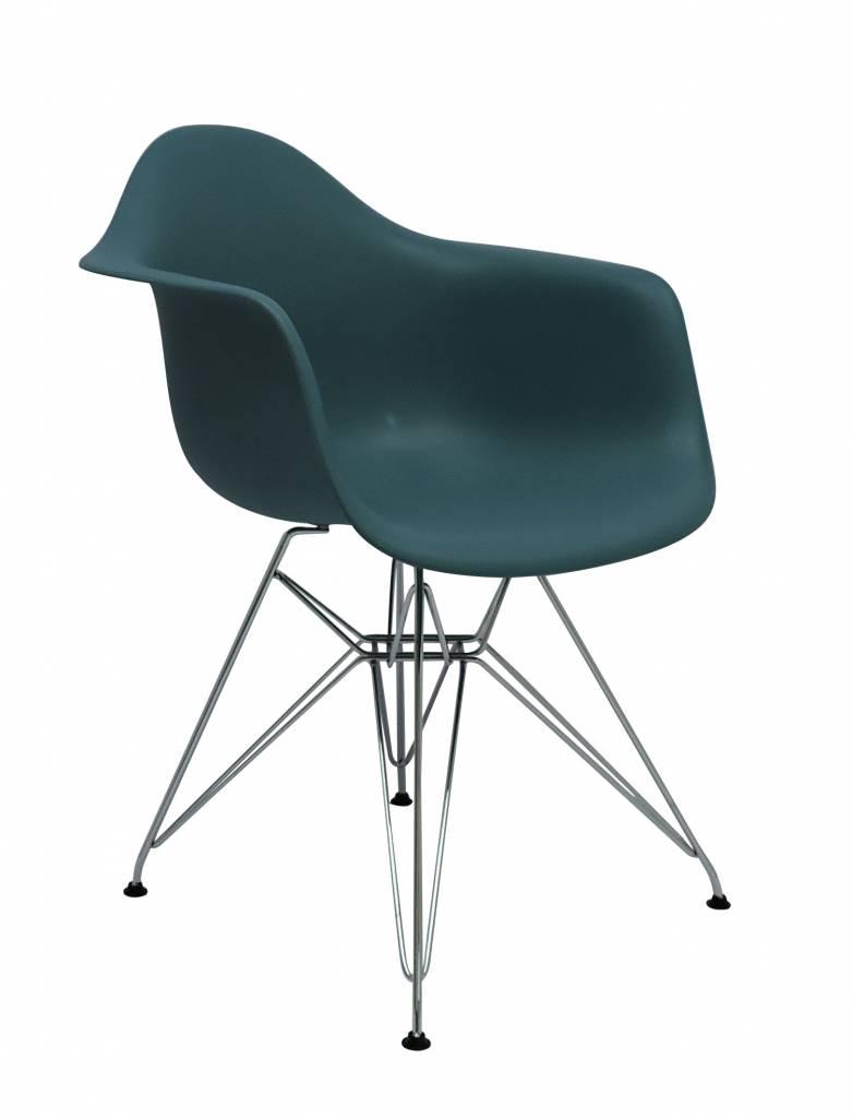 Dar eames design stoel groen design seats design for Design eetkamerstoelen eames