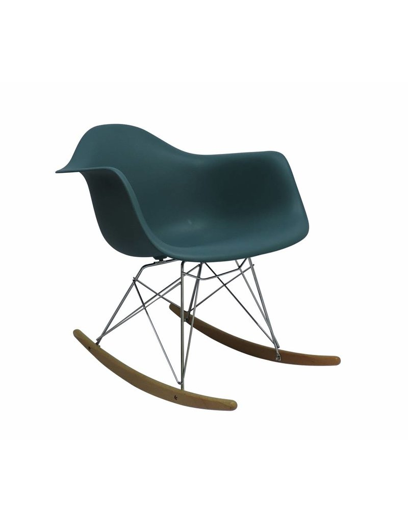 ... RAR Eames Design Rocking Chair Green ...