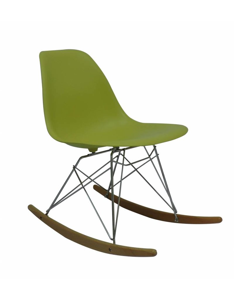 RSR Eames Design Rocking Chair Green ...