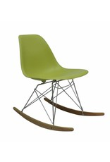 RSR Eames Design Rocking Chair Green