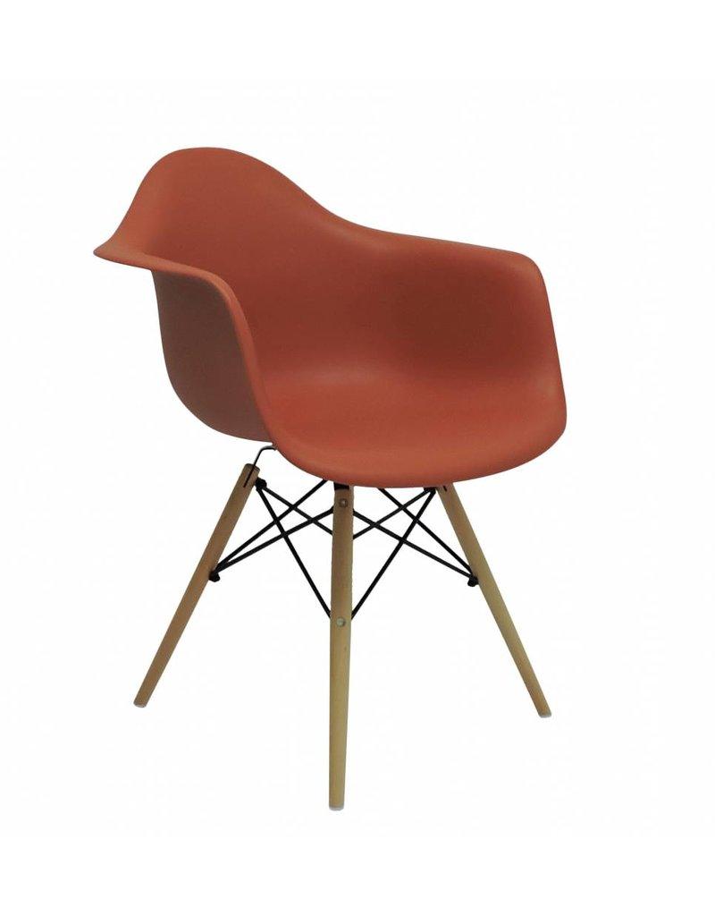 DAW Eames Design Chair Orange