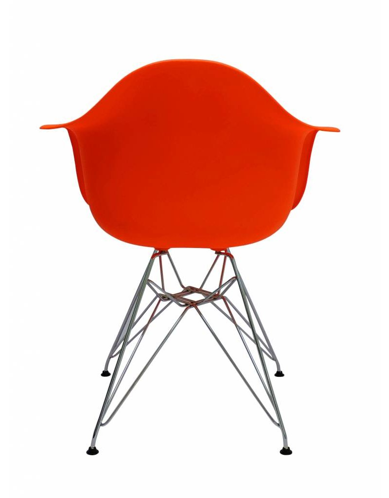 DAR Eames Design Chair Orange