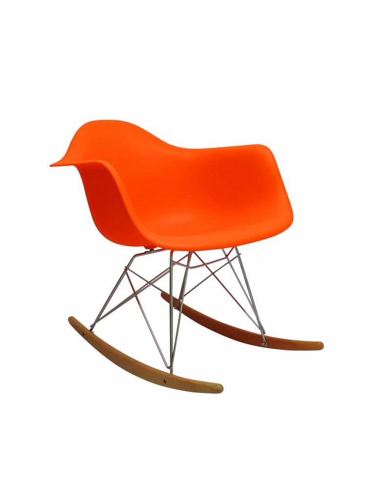 RAR Eames Design Rocking Chair Orange ...