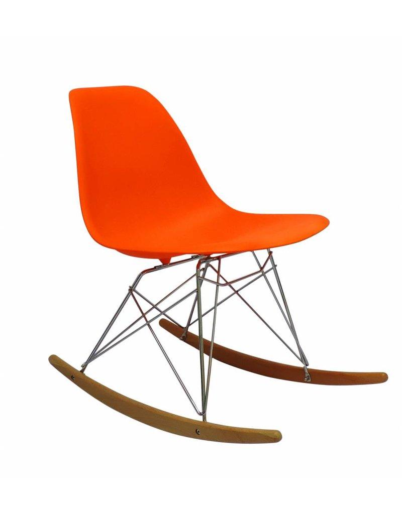 RSR Eames Design Rocking Chair Orange