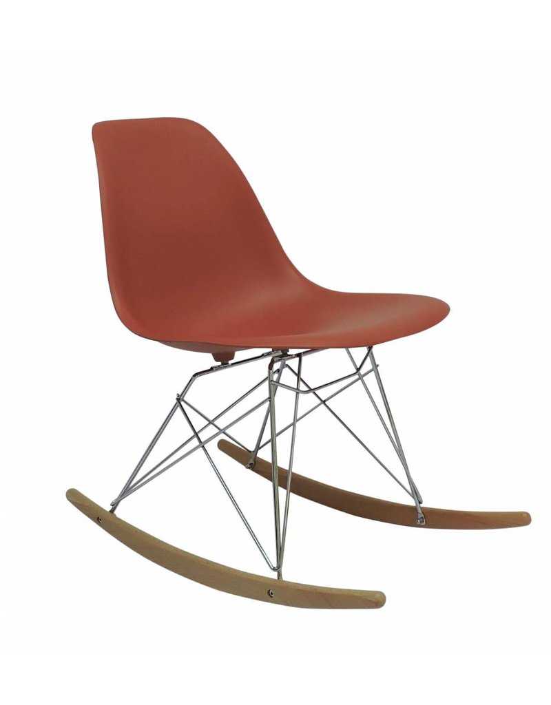 RSR Eames Design Schommelstoel Oranje