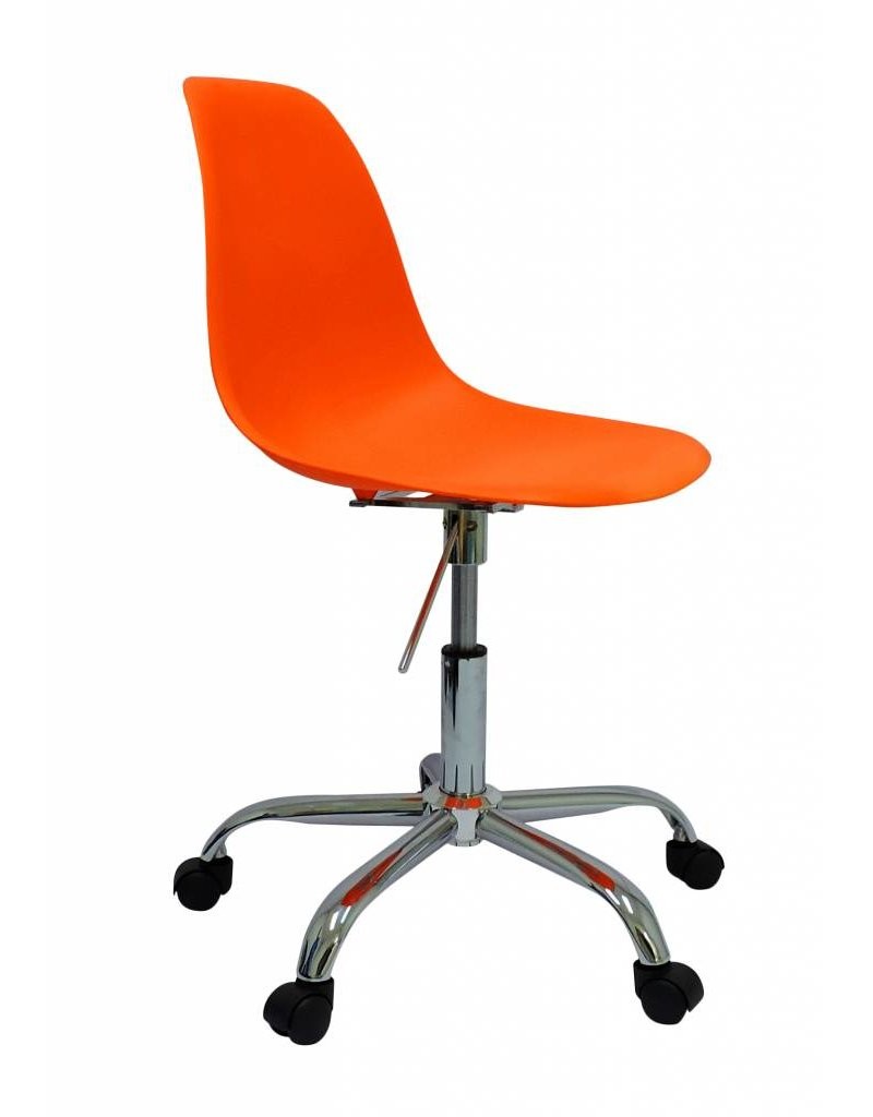 Pscc Eames Design Chair Orange