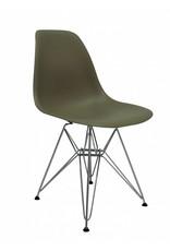 DSR Eames Design Eetkamerstoel Bruin