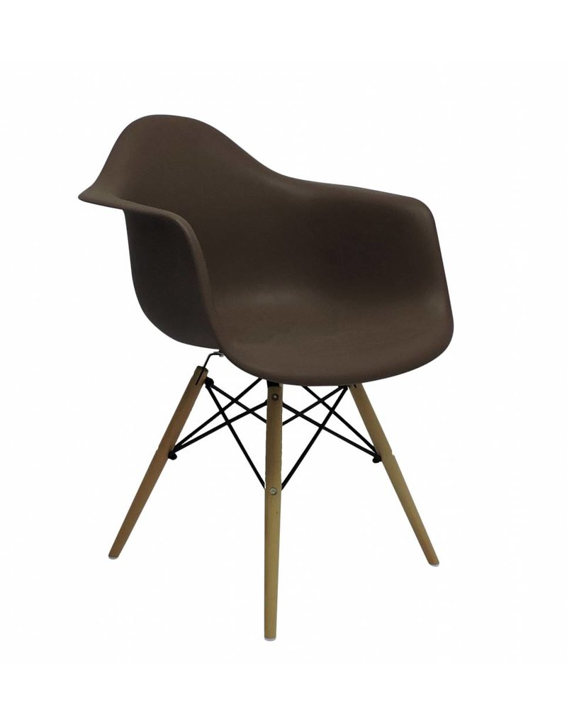 DAW Eames Design Chair Brown ...
