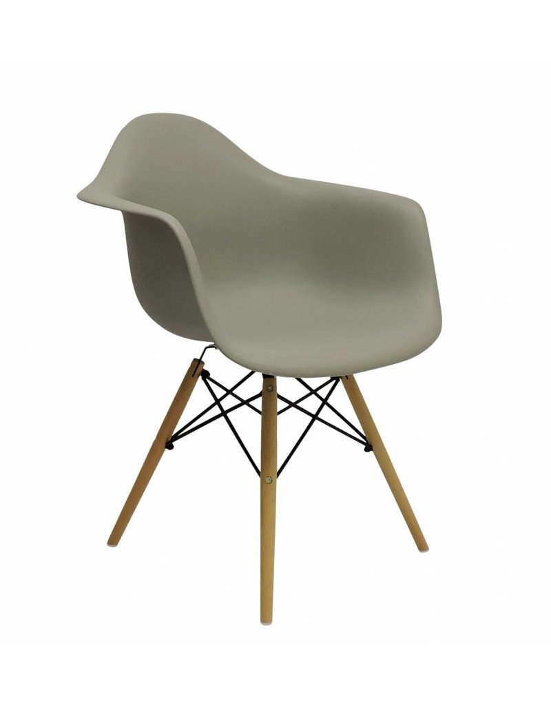 ... DAW Eames Design Chair Brown ...  sc 1 st  Design Seats & DAW Eames Design Chair Brown - Design Seats - Buy designer chairs online