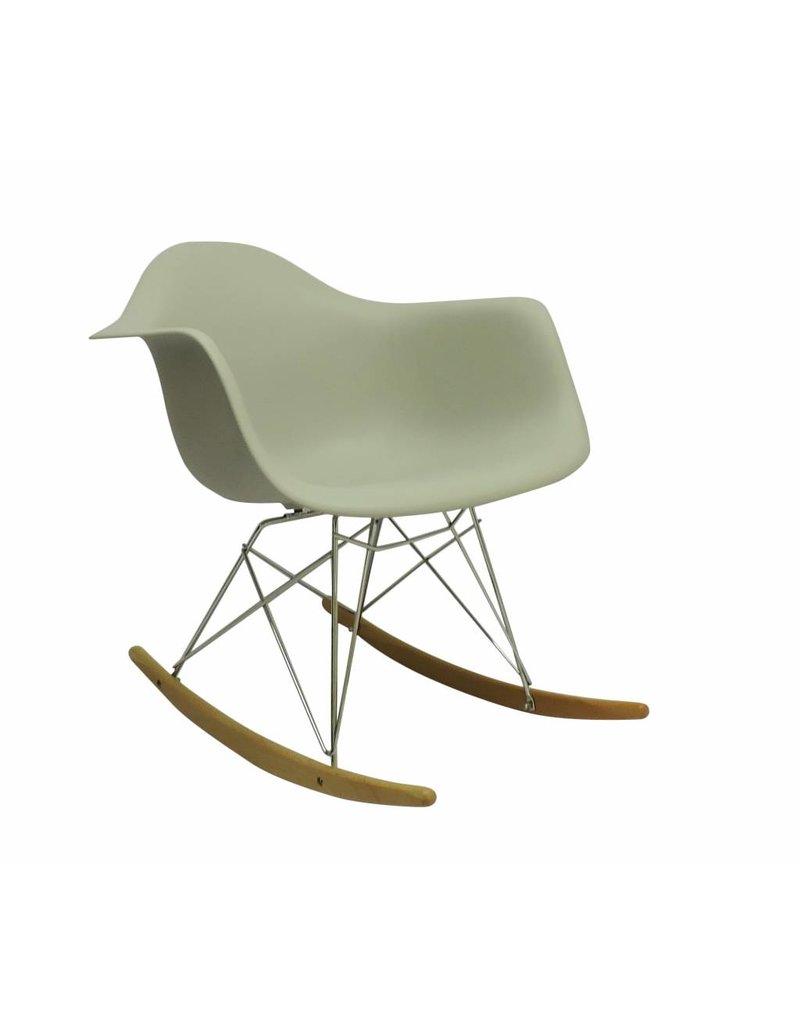 RAR Eames Design Schommelstoel Bruin