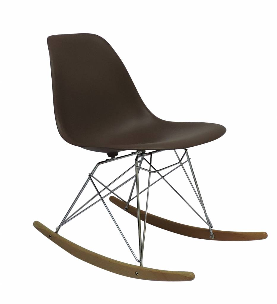 RSR Eames Design Rocking Chair Brown   Design Seats   Buy Designer Chairs  Online