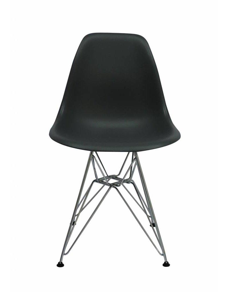 DSR Eames Design Eetkamerstoel Grijs