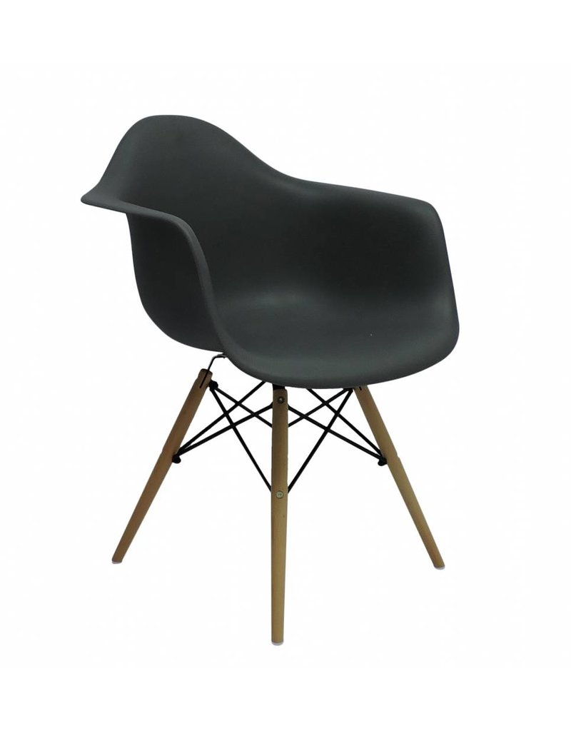 Daw eames design stoel grijs design seats design for Design eetkamerstoelen eames