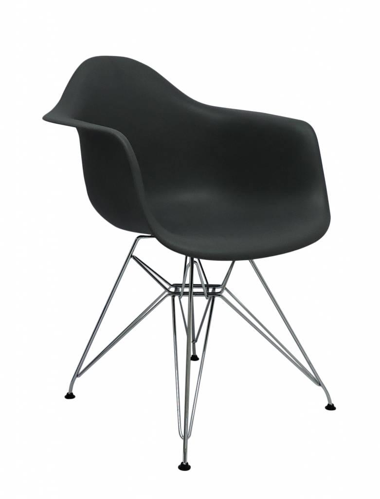 Dar eames design stoel grijs design seats design for Design eetkamerstoelen eames