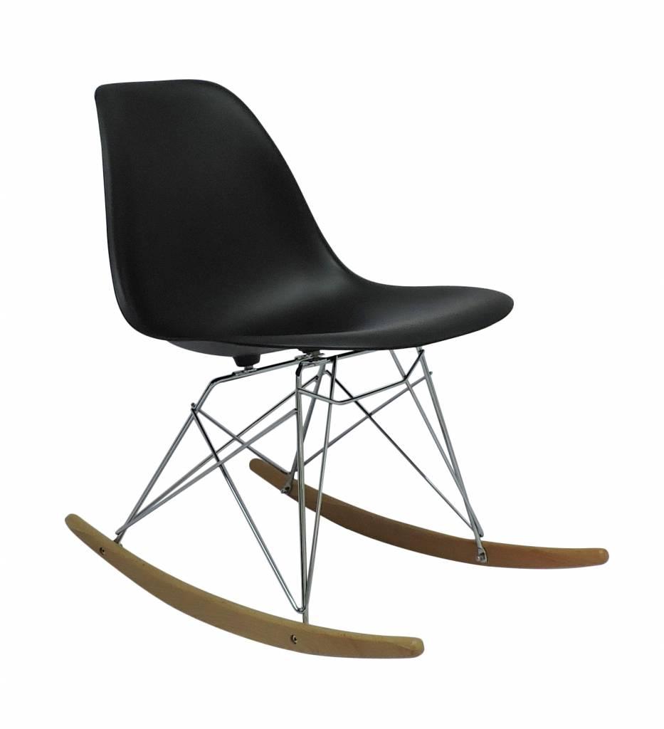 Rsr eames design schommelstoel grijs design seats for Design eetkamerstoelen eames