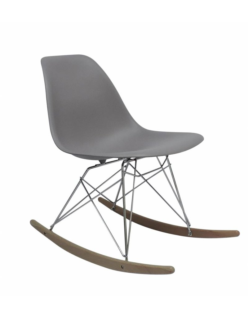 RSR Eames Design Rocking Chair Grey