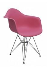 DAR Eames Design Stoel Roze