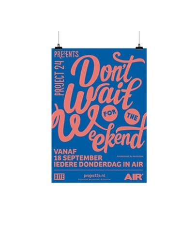Poster Abri Afw 4/3 135 gr houtvrij gesatineerd mc