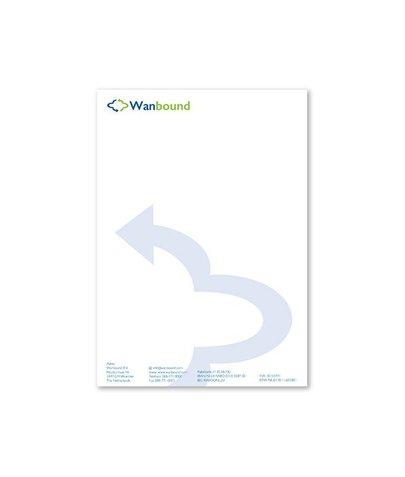 Briefpapier A4 - 4/0 - 90 gr lasergeschikt