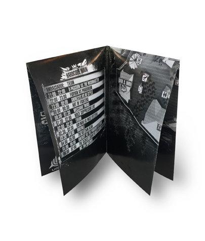 Folder A6 - tweebreuk kruisvouw - 170 gr