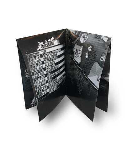 Folder A5 - tweebreuk kruisvouw - 135 gr