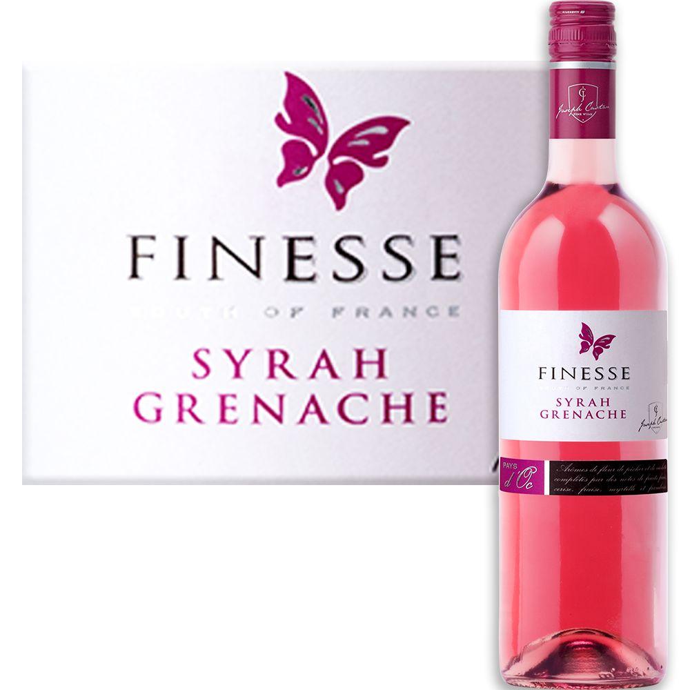 Joseph Castan Finesse Syrah Grenache Rosé