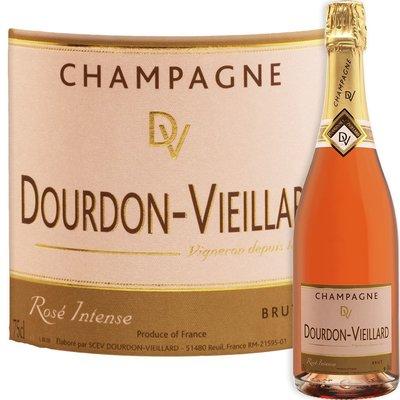 Champagne Dourdon Vieillard - Cuvée Tradition Brut Rosé Intense