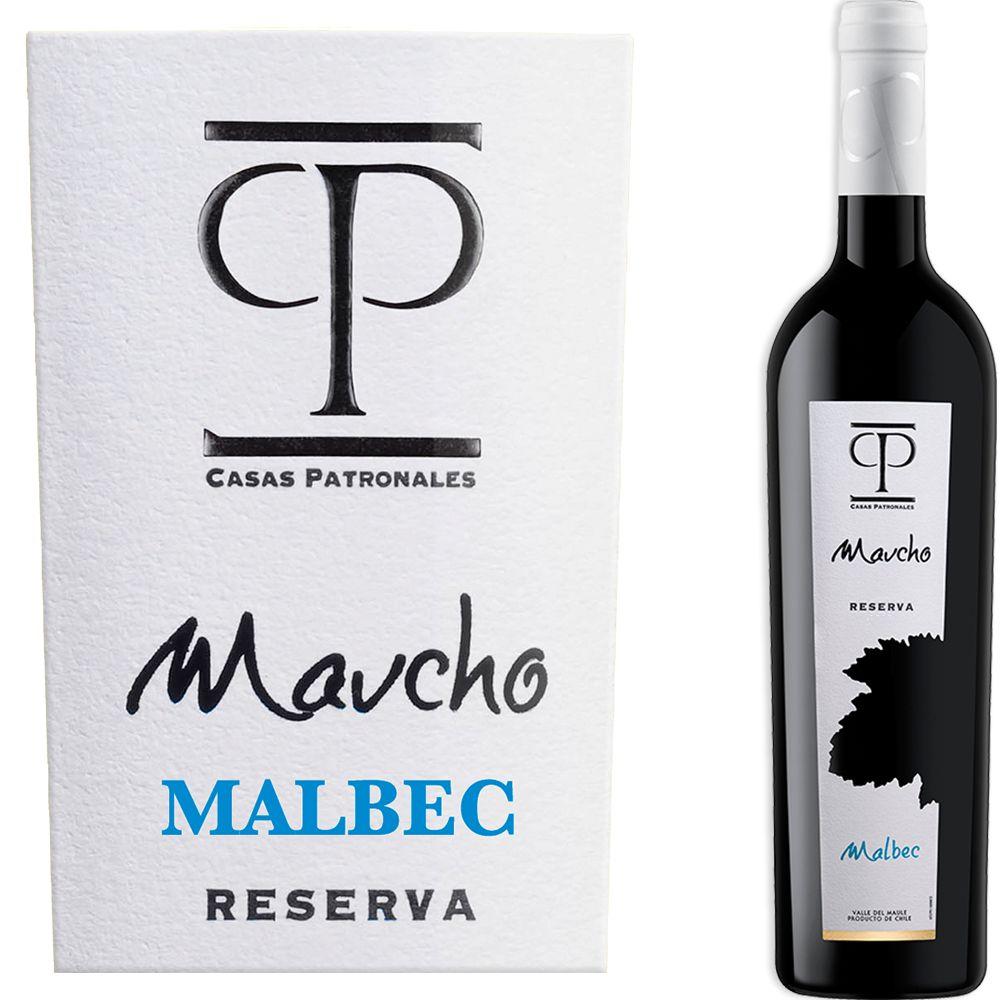 Casas Patronales Maucho Malbec Reserva
