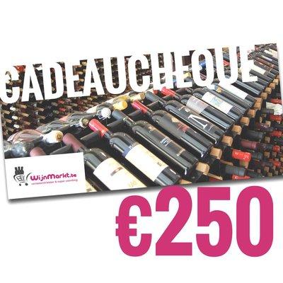 Cadeaucheque €250