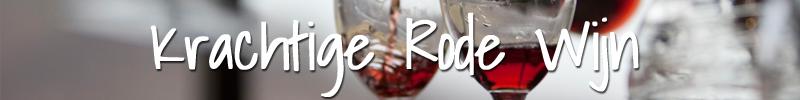 Krachtige rode wijn Wijnmarkt