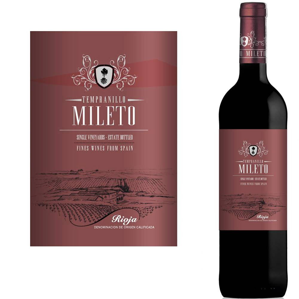 Bodegas Alvia Mileto Tempranillo Joven Rioja