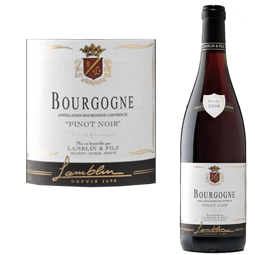 Maison Lamblin Bourgogne Pinot Noir