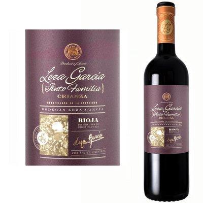 Leza Garcia Rioja Crianza di Famiglia