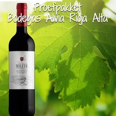 Proefpakket Bodegas Alvia - Rioja Alta