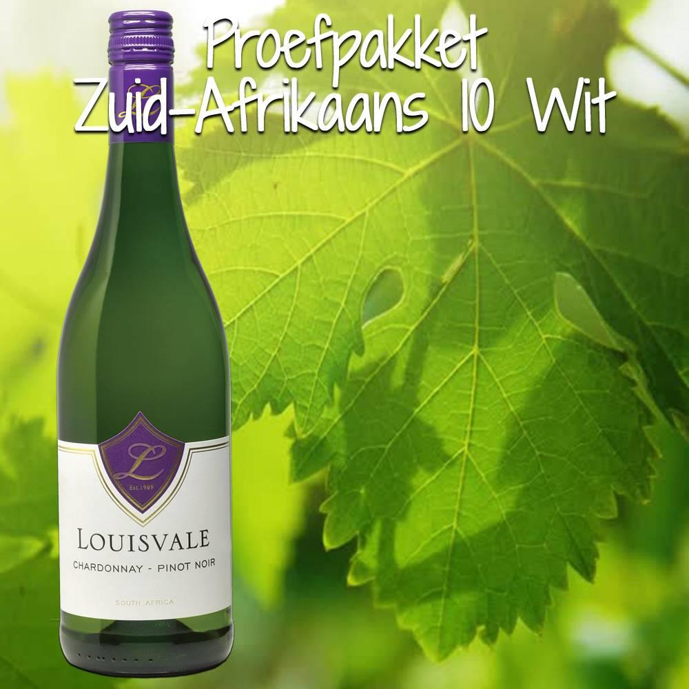Proefpakket Zuid-Afrikaans Wit 10 flessen