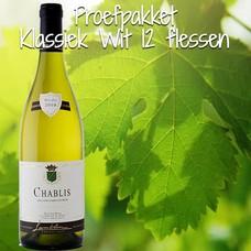 Proefpakket Klassiek Wit 12 flessen