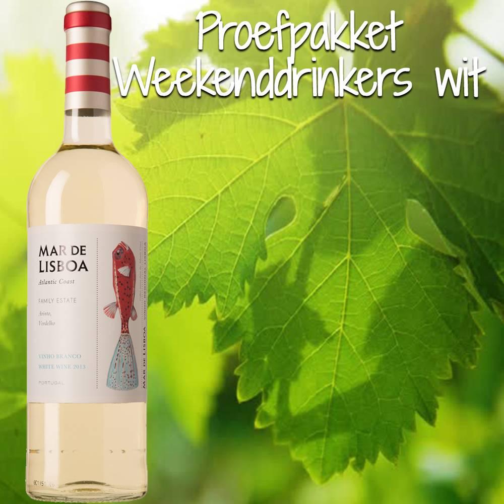 Proefpakket Weekend Drinkers wit