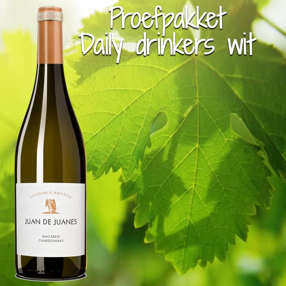 Proefpakket Daily Drinkers wit