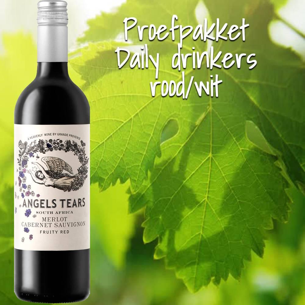 Proefpakket Daily Drinkers rood/wit
